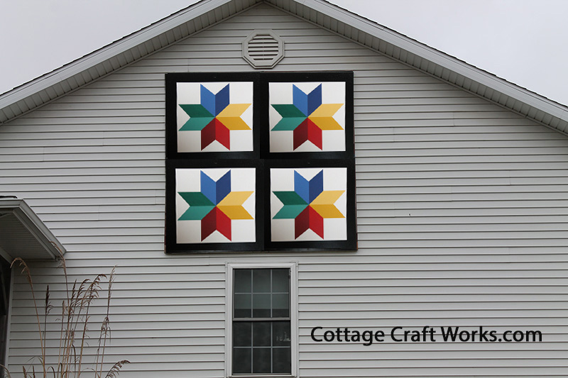 Amish Painted Barn Quilts