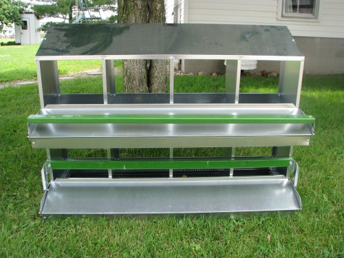 Rollaway Chicken Nesting Boxes