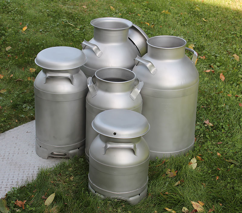 USA Stainless Milk Cans