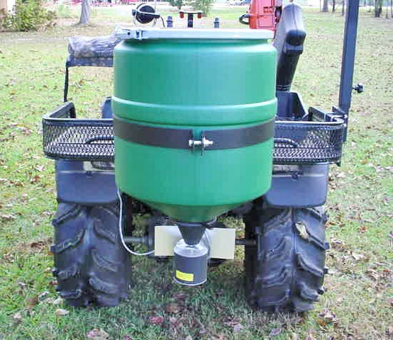 Universal Atv Spreader For Fertilizer Feed Deer Corn And