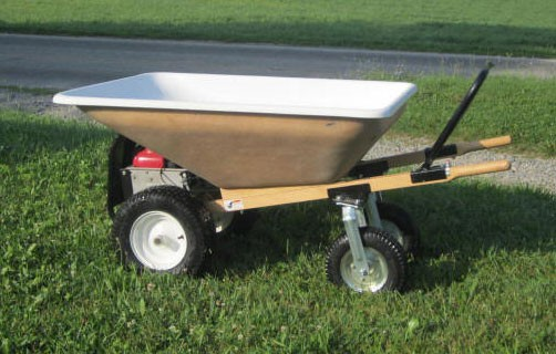 The Ez Motorized 10 Cubic Feet Wheelbarrow