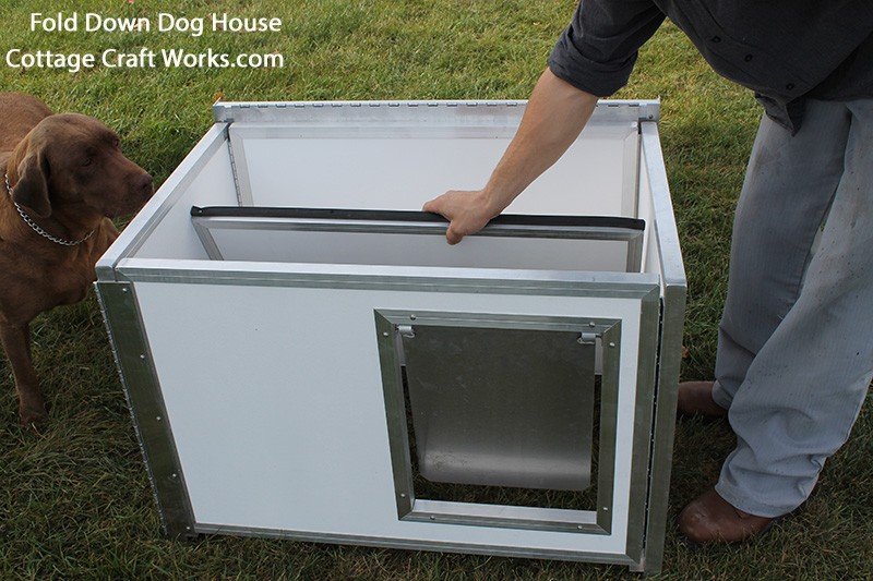 Collapsible Aluminum Hunting Dog Transport Box