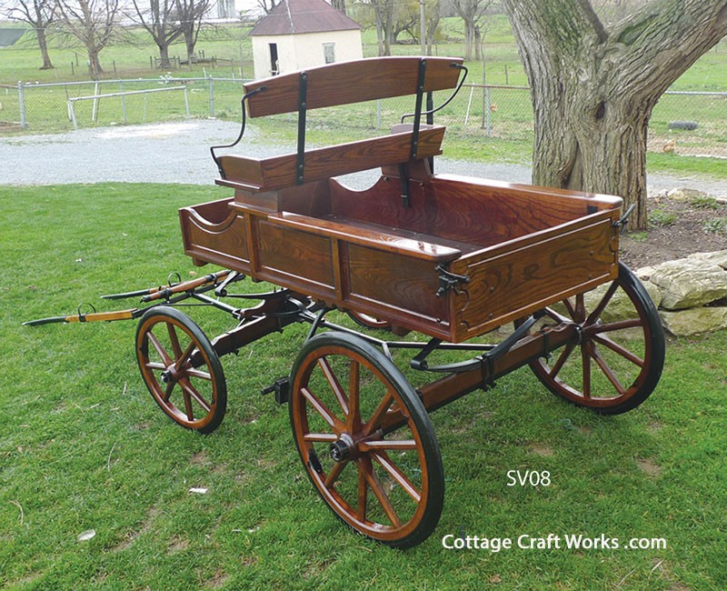 Miniature Pony Buckboard Wagon