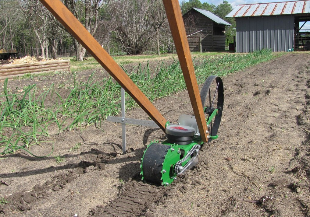 Wheel Hoe Garden Seeder for all Hoss Wheel Hoe Cultivators