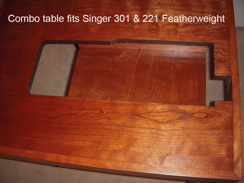 A Stunning Reproduction Singer Featherweight Folding Card