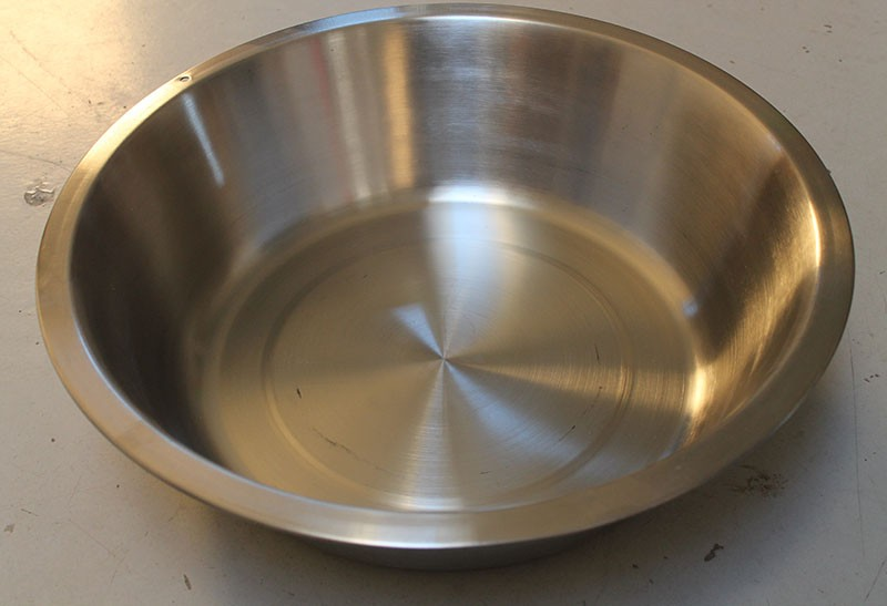 Heavy Duty Stainless Steel Dish Pan Large 15 Qt