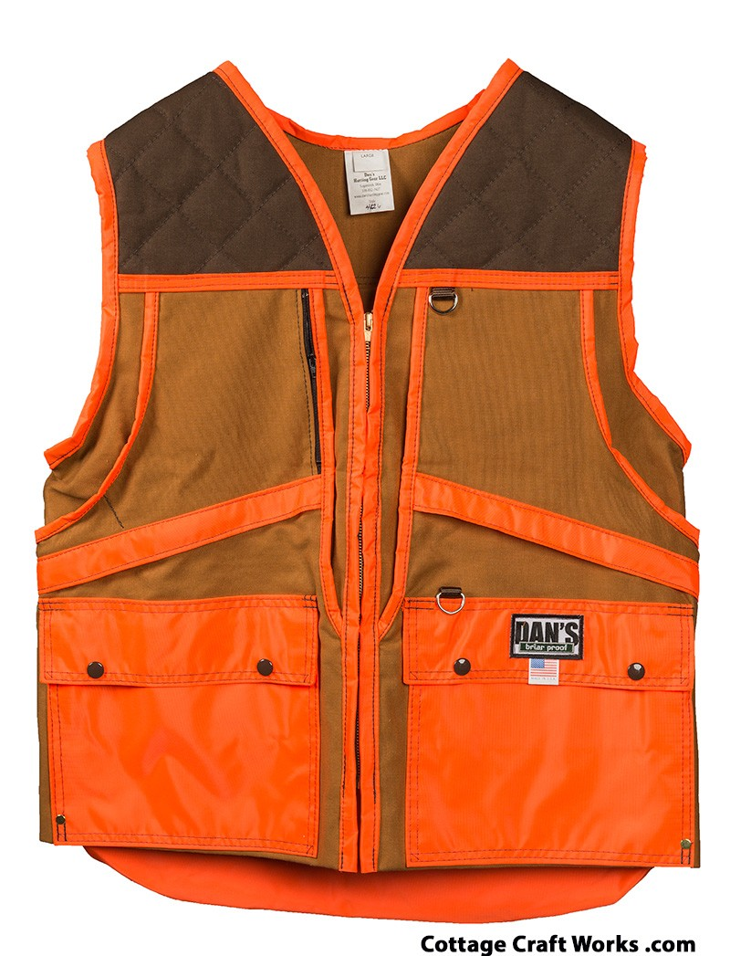 Upland Bird Hunter Briar Tough Gear Vest