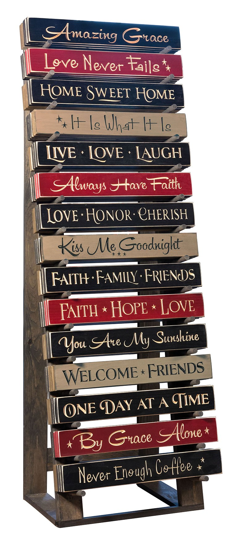 Amish Handcrafted Engraved 24 Quot Wall Sign 14 Inspirational