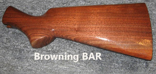 Browning BAR Rifle Buttstock