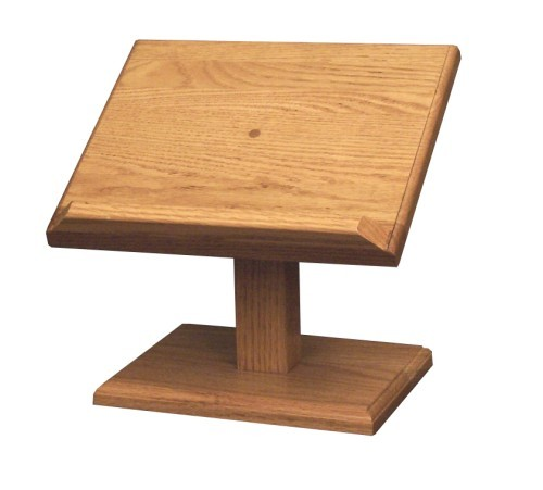 Small Cookbook - Book Stand Oak