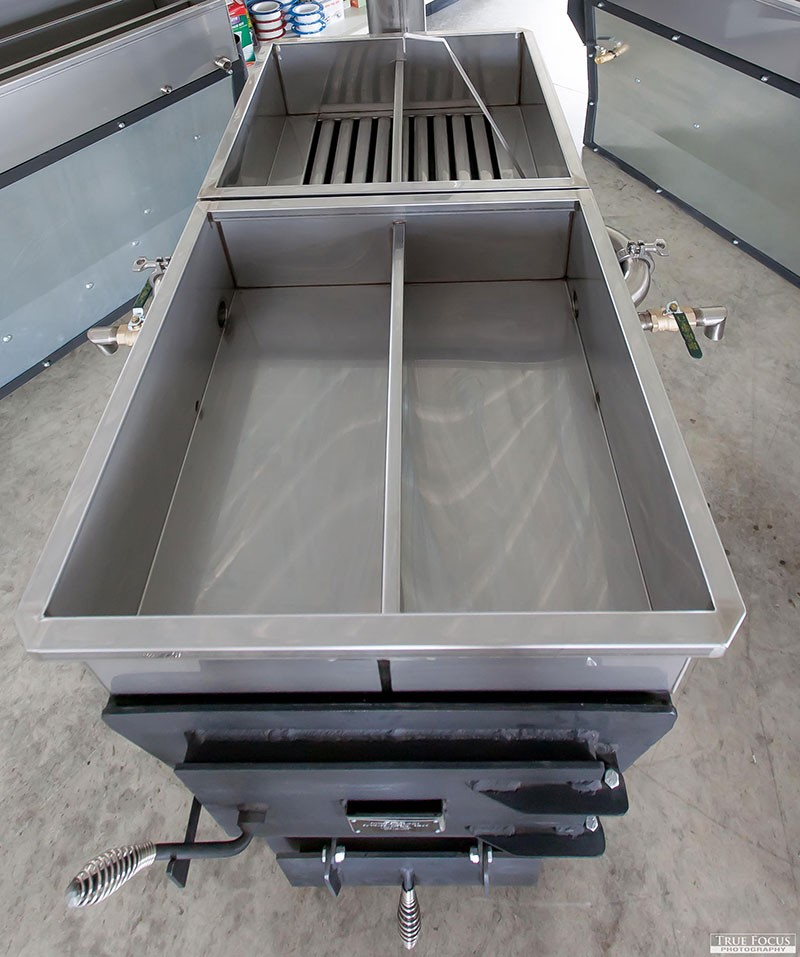 Maple Syrup-Cooker-Evaporator Two Pan Cooker