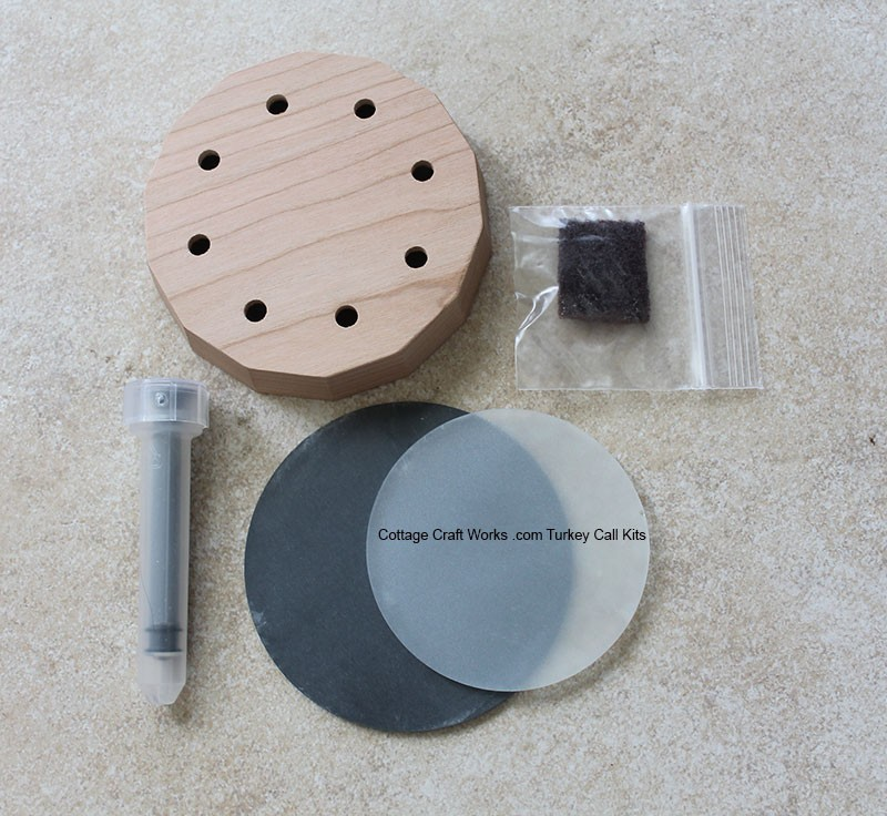 Turkey Slate Friction Call Kit