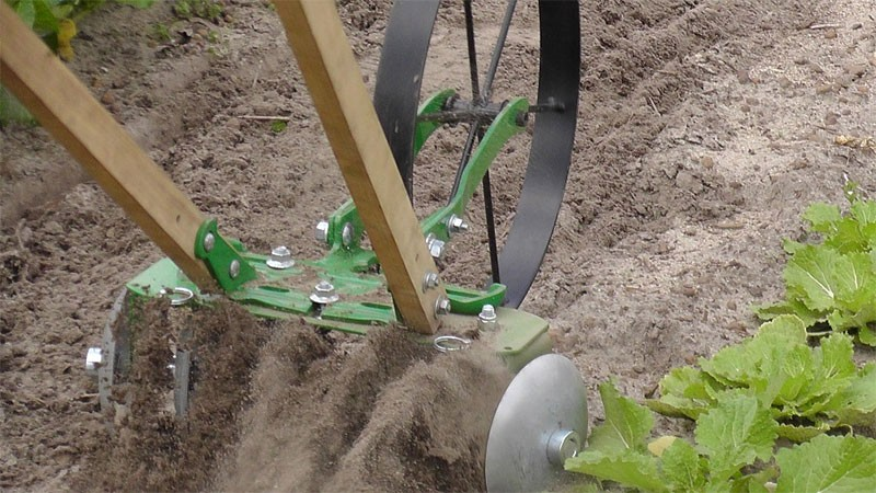 Push Cultivator Disk Harrow