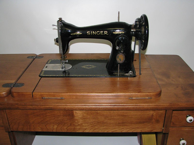 new cottage treadle sewing machine