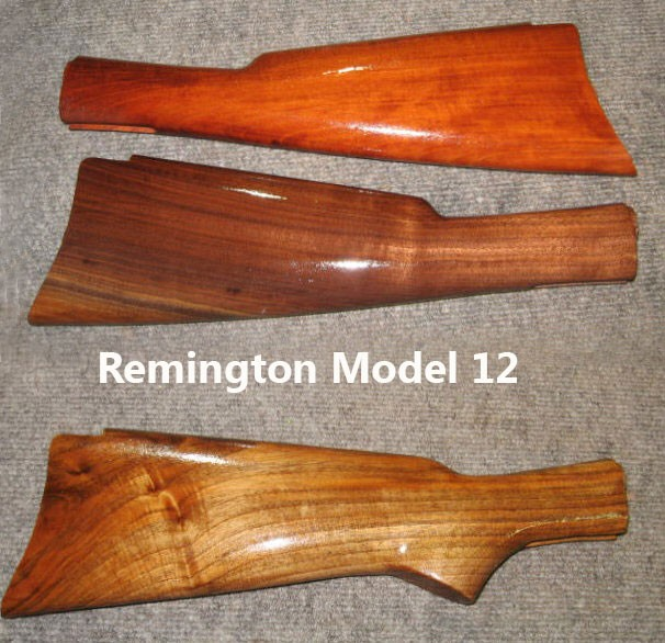Remington Model 12 Model 121 Walnut Stock