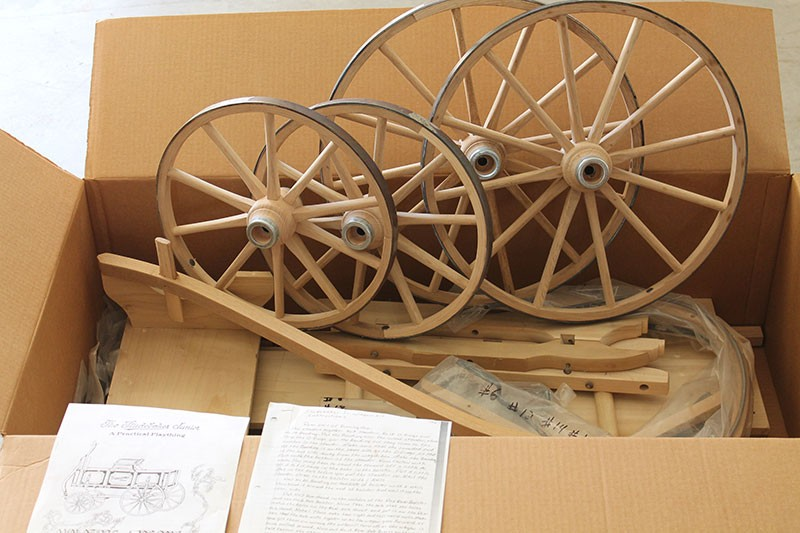 Reproduction Studebaker Junior Wagon Unfinished Kit Wagons