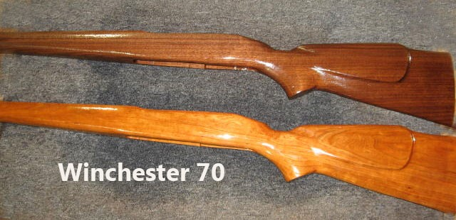 Winchester Model 70 Rifle Stock