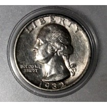 The 1932-S Washington Silver Quarter  AU-55 Grade