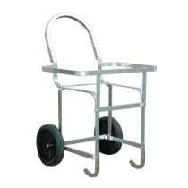 Economy Laundry Cart | Aluminum Laundry Basket Cart