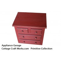 Primitive Decor Kitchen Counter Appliance Garage
