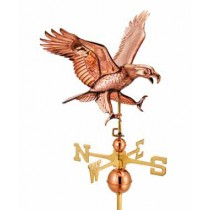 Attack Eagle Copper Weathervane
