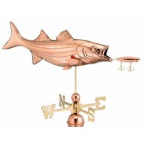 Bass Copper Weathervane