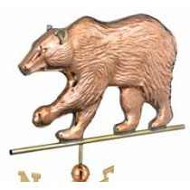 Bear Copper Weathervane