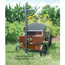 Miniature Replica Authentic Buckboard Wagon