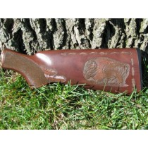 Buffalo Gun Stock Carving
