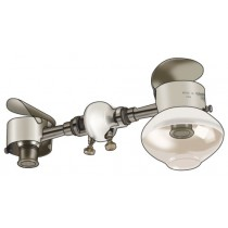 Off Grid - Double Head Ceiling Mount Gas Lamp
