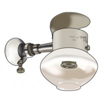 Off Grid - Single Head Ceiling Gas Mount Light