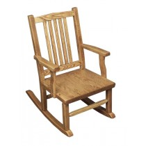 Childs Mission Rocker Oak