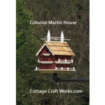 Colonial Purple Martin House