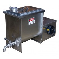 Stainless 10 Gallon Commercial | Small Dairy | Butter Churn