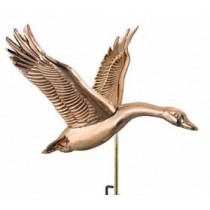 Feathered Goose Copper Weathervane