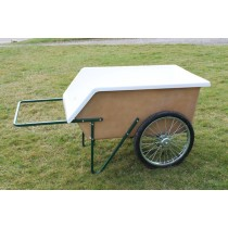 EZ 85 Fiberglass Tub Wet Material Cart