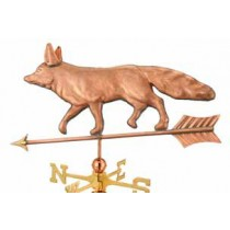 Fox Copper Weathervane