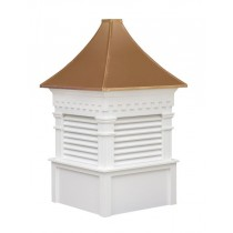 The Greenfield Louvered Cupola (free shipping!)