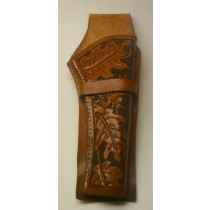 45 Cal. Long Colt Fancy Tooled Holster | Leather Holsters
