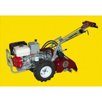 Commercial Grade Hydraulic Garden Tiller | 18 Inch  Power Dog