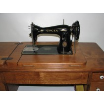 Singer Class 15 Machine Reproduction Treadle Sewing Cabinet