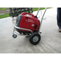 Small Dolly Style Aluminum Generator Cart