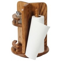 Kitchen Lazy Susan Paper Towel Organizer