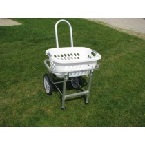 Front Wheel Laundry Basket Cart
