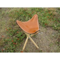 Leather Top Sports Stool