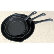 Long Handle Cast Iron Skillet Set