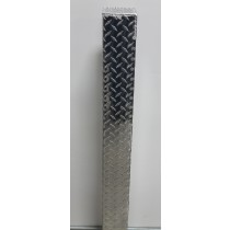 Mail Box Post Protector | Diamond Plate