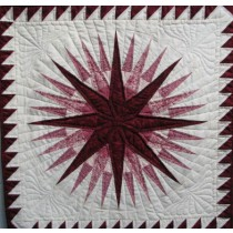 Amish Quilts | Mariner Compass Quilt