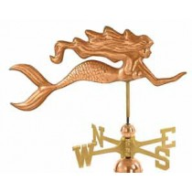Mermaid Copper Weathervane