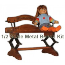 Our Oak Buckboard 1/2 Scale Bench Metal Kit